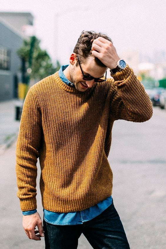 Mustard autumn outfit