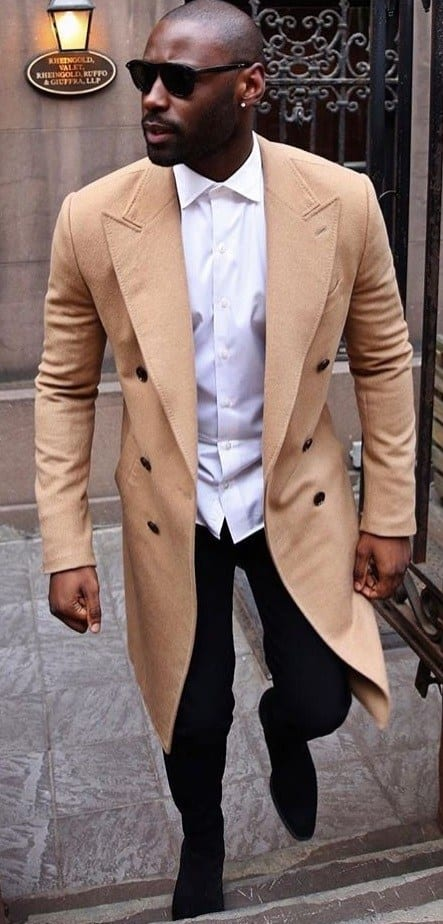 khaki outfit dark skin tone men style guide