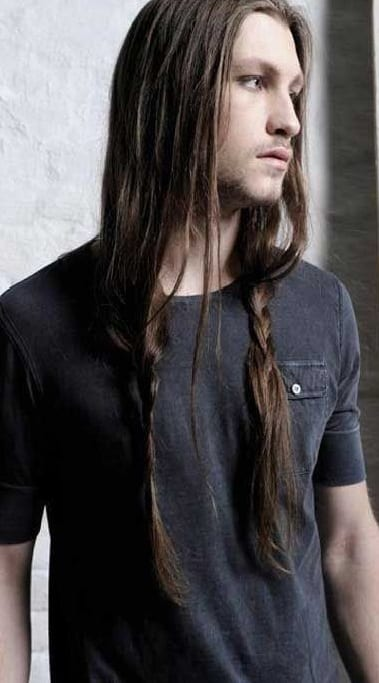 2 Stylish Hairstyle Combinations With The Long Ponytail For Men