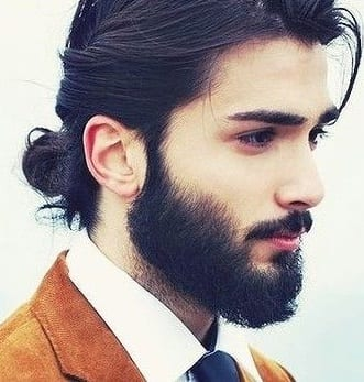 low man bun hairstyles
