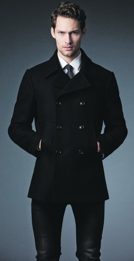 pea coat formal