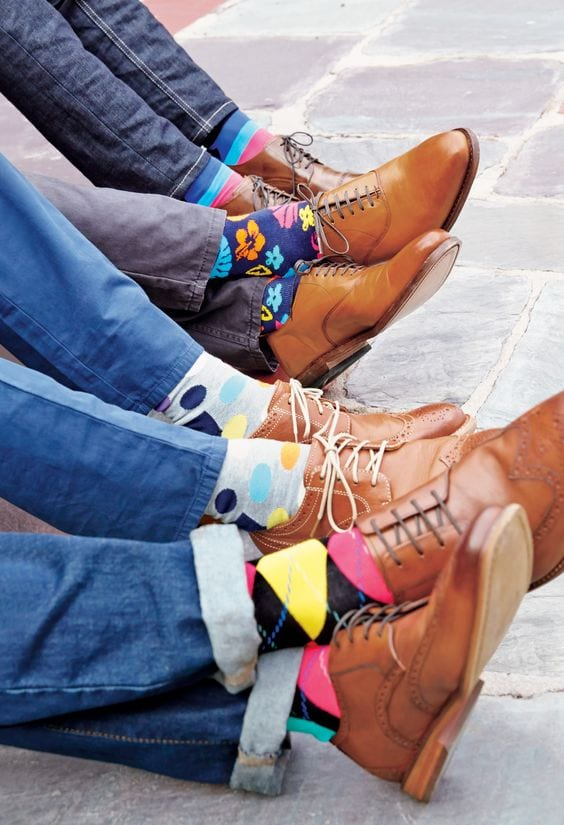 printed socks- outdated fashion Rules