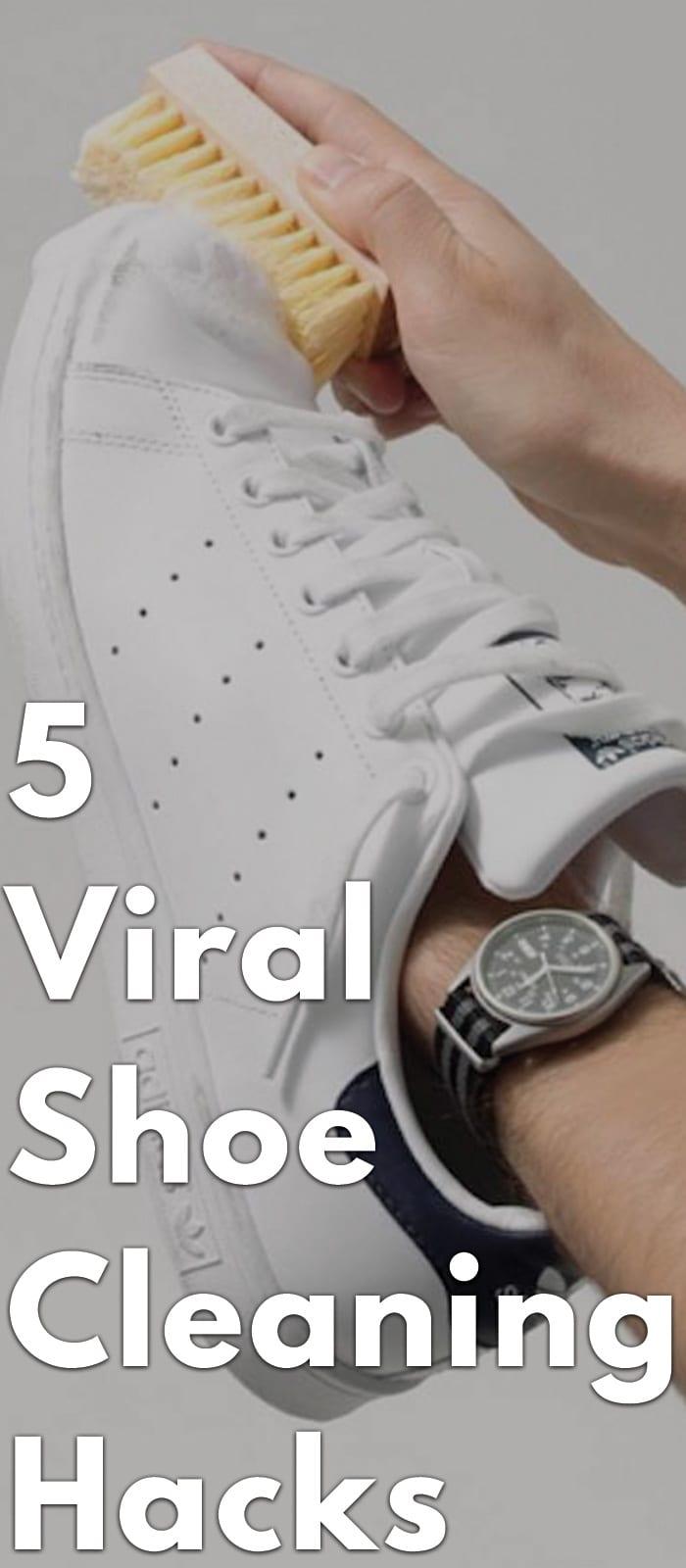 5 Viral Shoe Cleaning Hacks