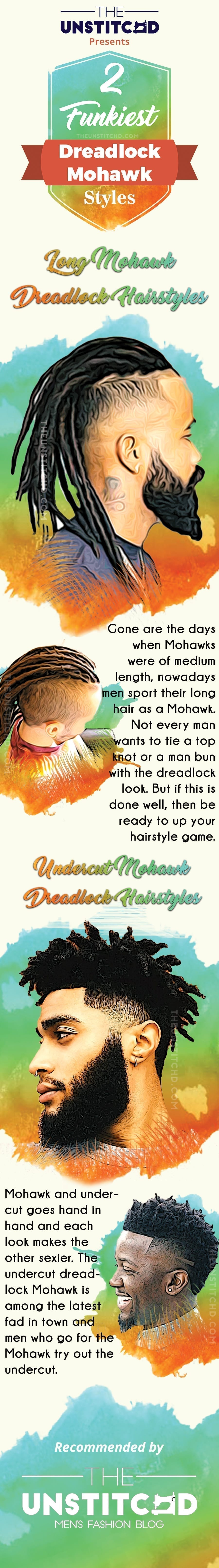 Mohawk-Dreadlock