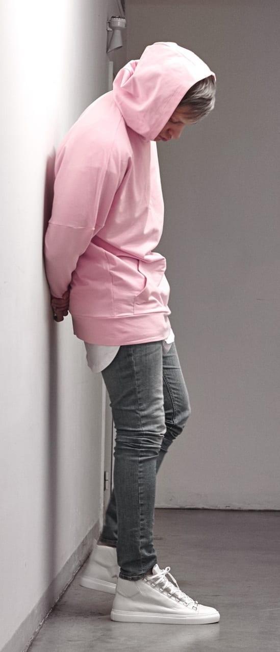 Pink Outfit Men - hoodie