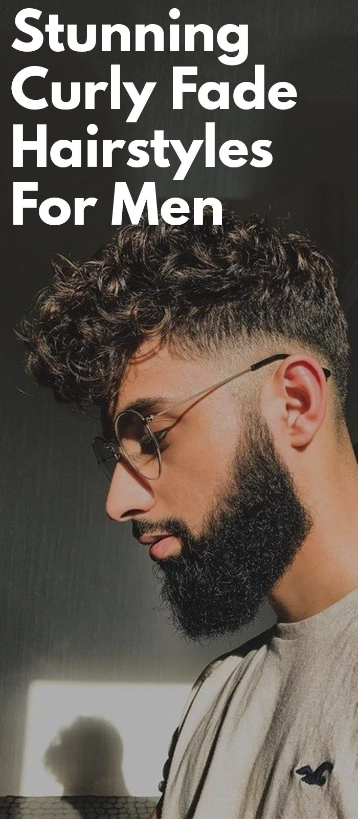 Stunning Curly Fade Hairstyles For Men