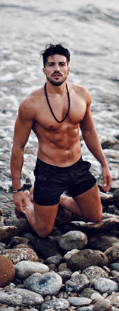 beach outfit men- swim wear
