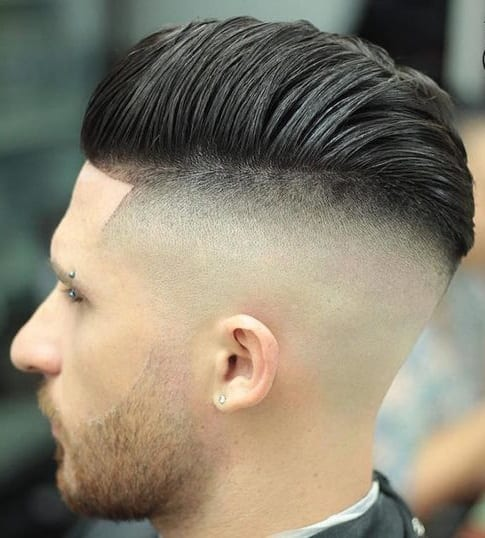 fade middle spikes