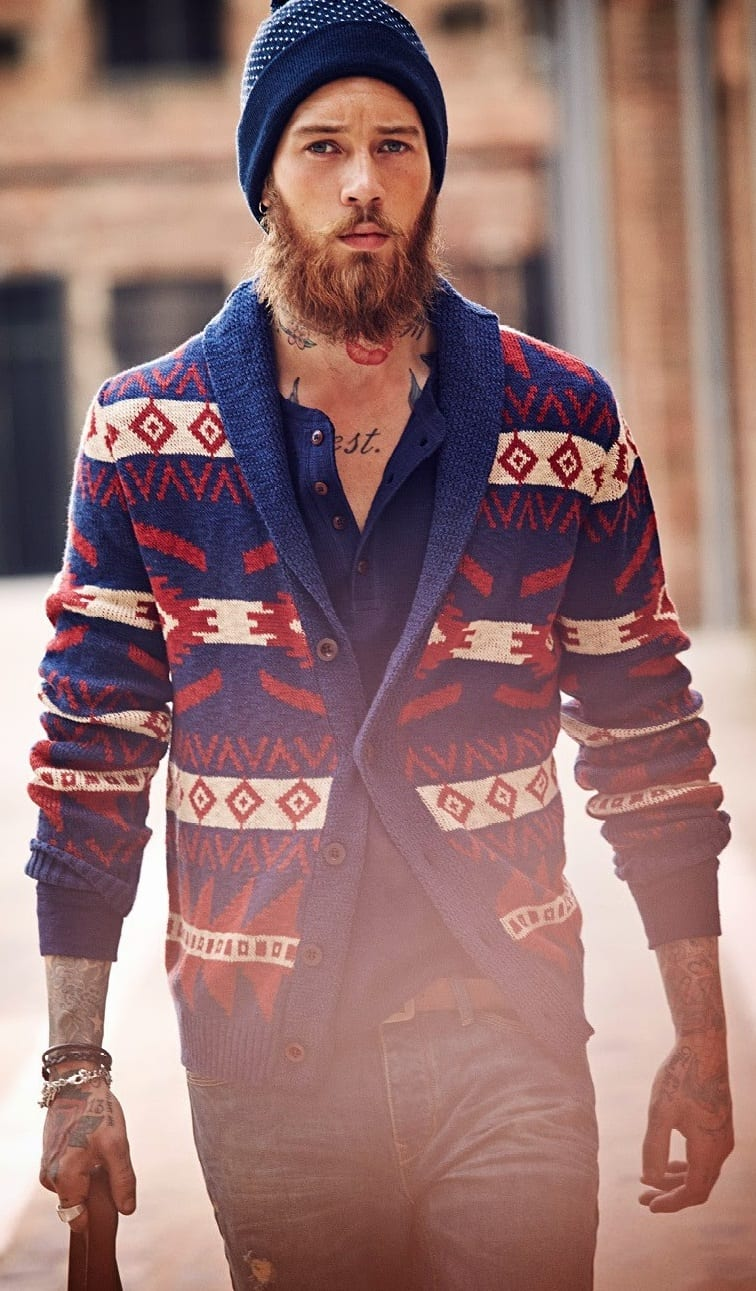 outfit layering - cardigan