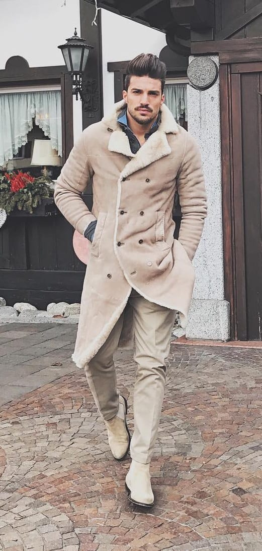outfit layering - coat
