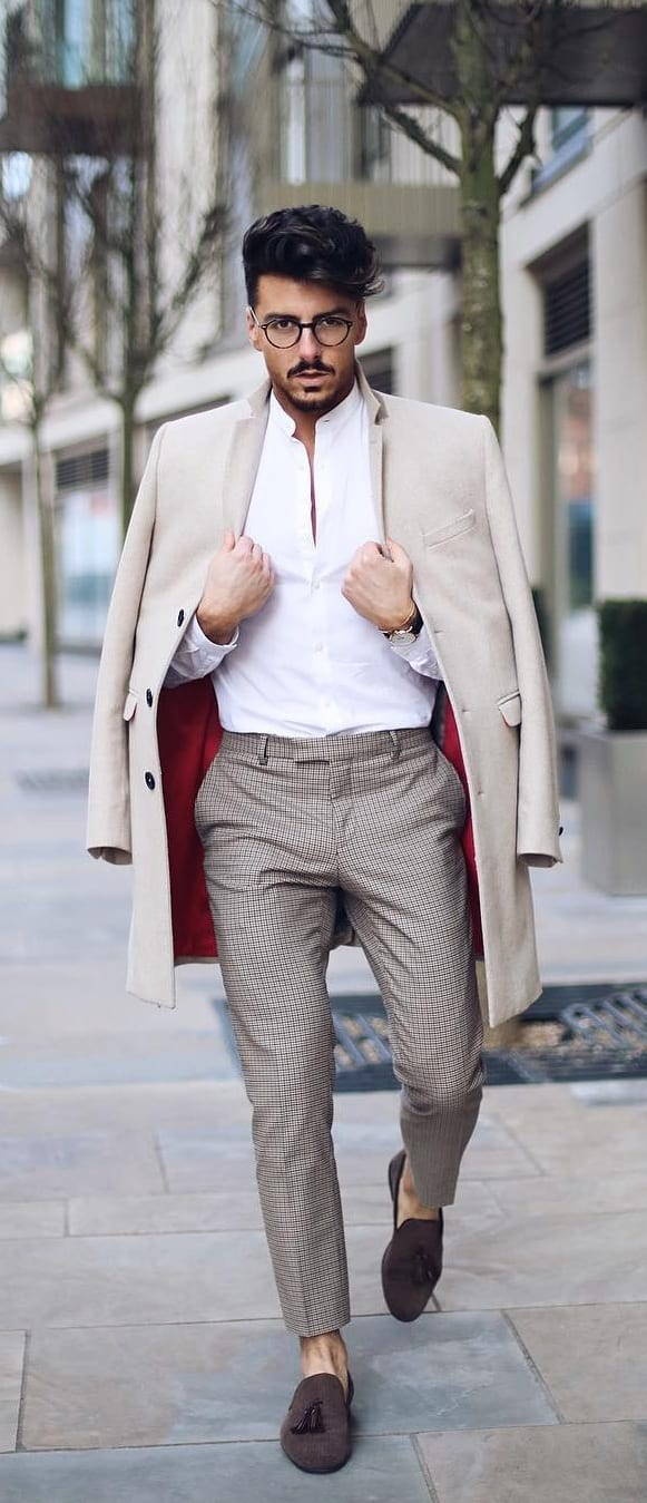 outfit layering for men