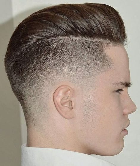 short hair pomp
