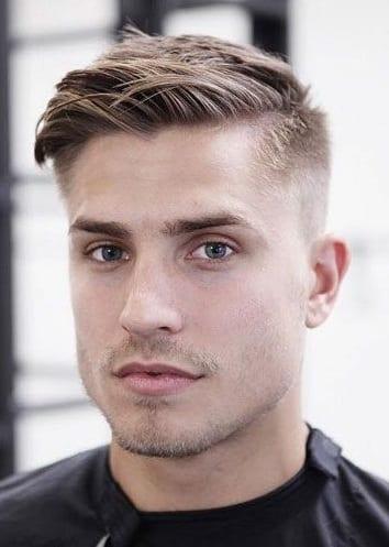 short hair pompadour