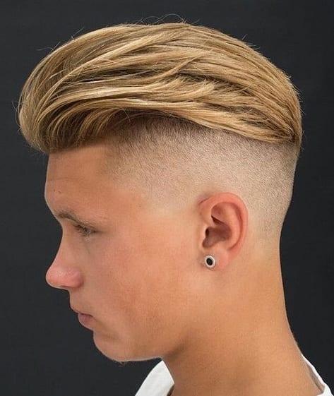 slick back undercut hairstyle