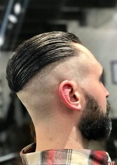 slick back undercut