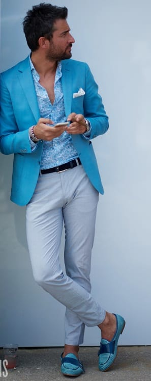 unstructured blazers for men