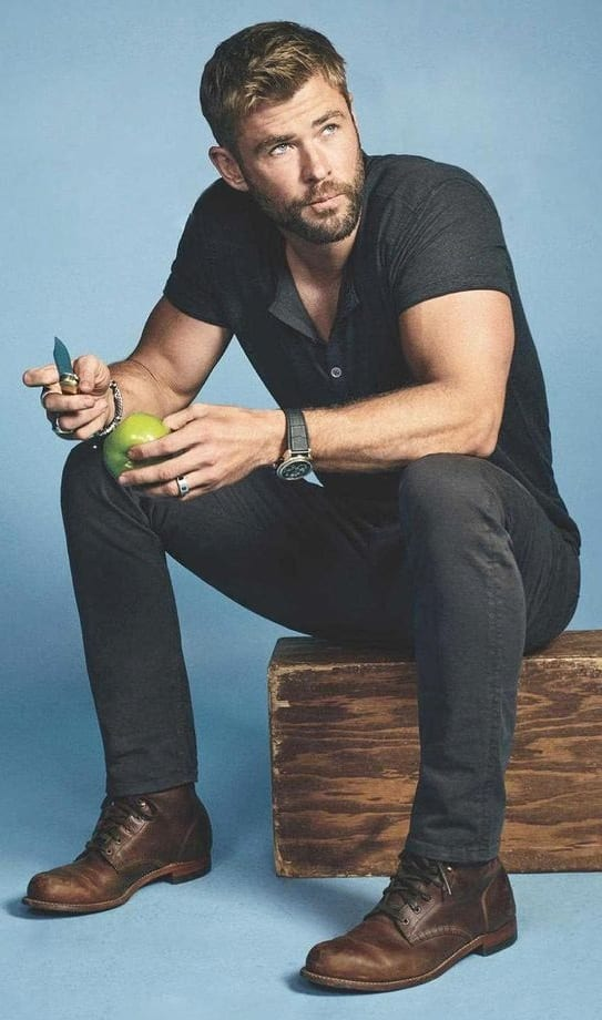 Celebrity Style - Chris Hemsworth