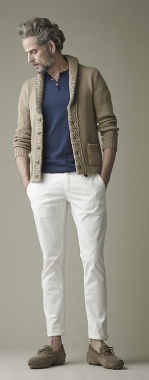 white denim style guide for men