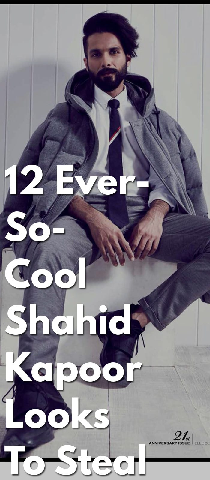 12 Ever-So-Cool Shahid Kapoor Looks To Steal