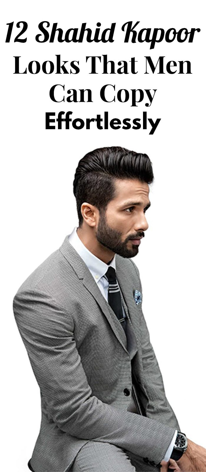 12 Shahid Kapoor Looks That Men Can Copy Effortlessly.