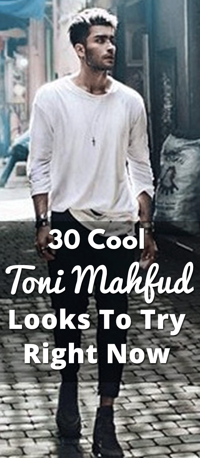 30 Cool Toni Mahfud Looks To Try Right Now