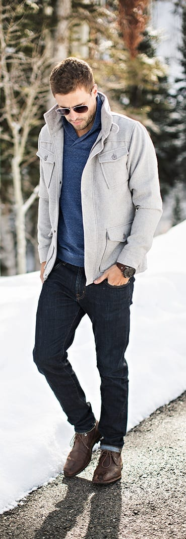 Raw Denim outfit ideas for men