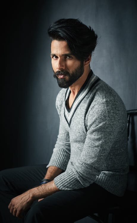 Shahid Kapoor Stunning Hairstyle Best Fashion Blog For Men
