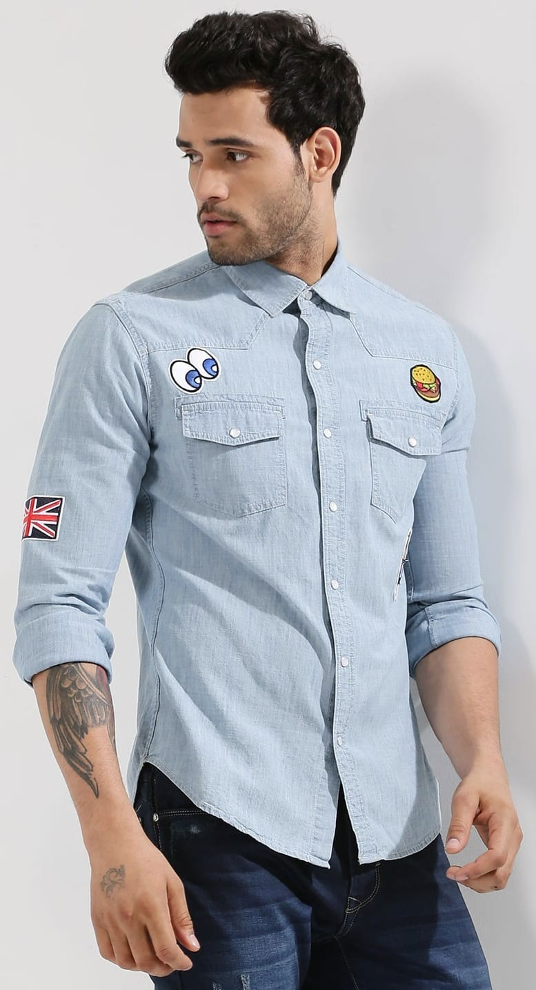Shirt Patch Outfit For Men