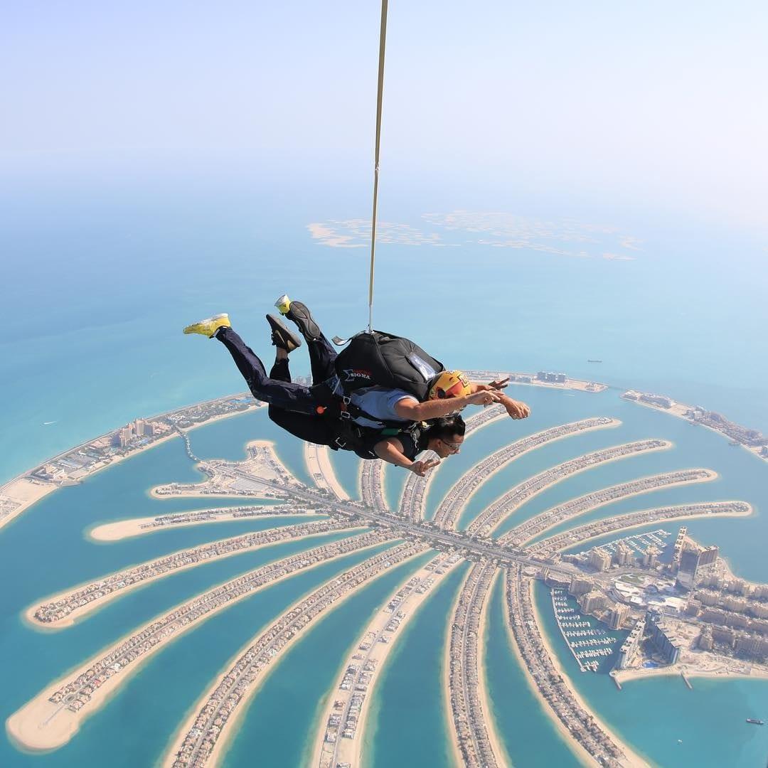 Skydive at Palm Jumeirah