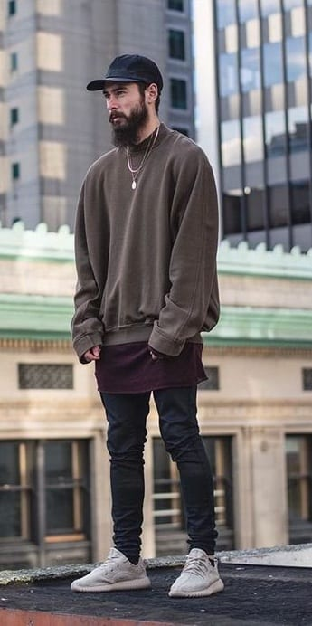 yeezy blush outfit