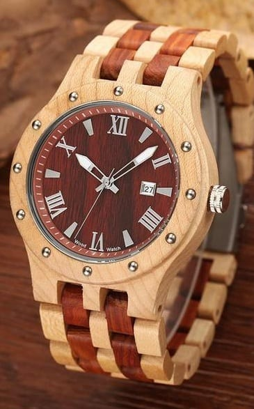 Wooden Watch For guys