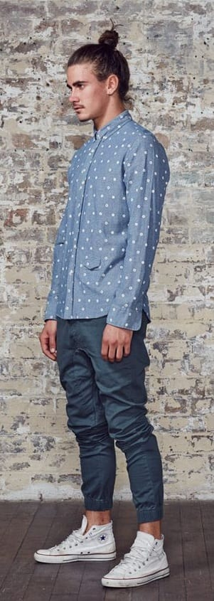 Amazing Micro Print Outfit Ideas For Men To Try