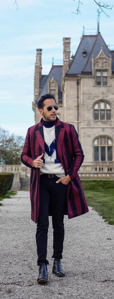 Amazing Pattern Outfit Ideas For Men