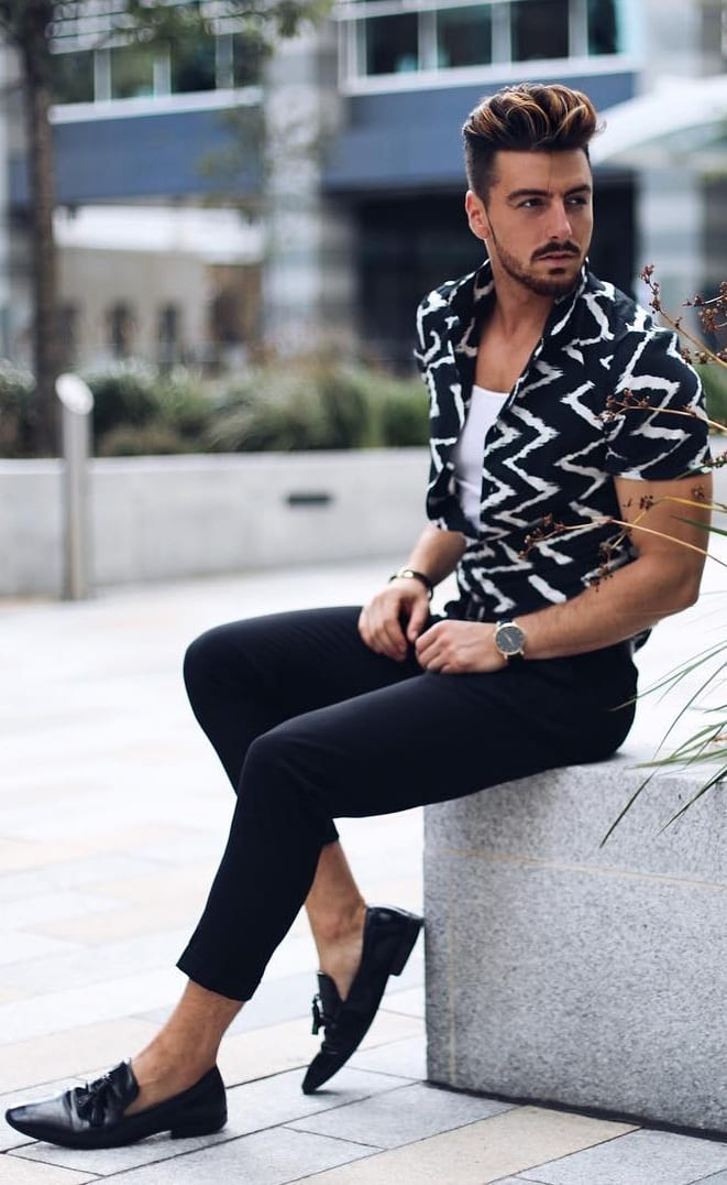 Casual Pattern Outfit Ideas For Men