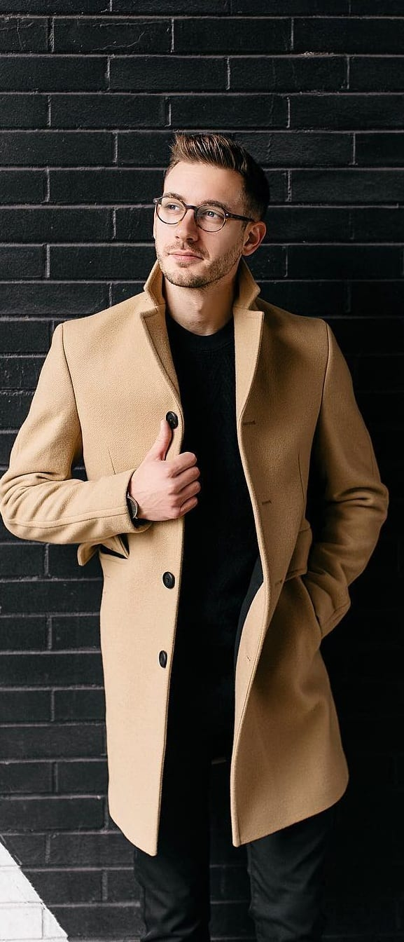 Sohisticated formal outfit idea for men
