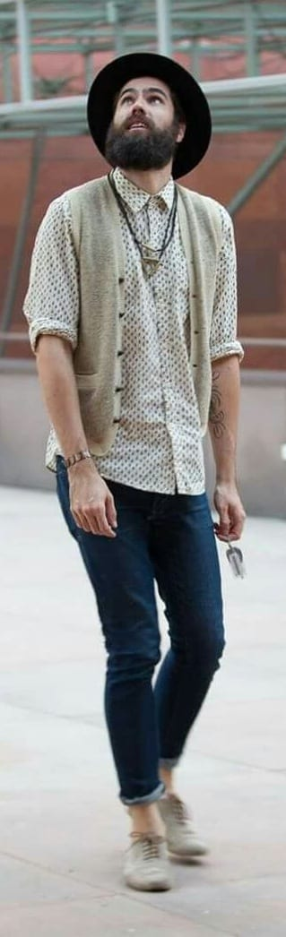 Stylish Micro Print Outfit Ideas For Men To Try
