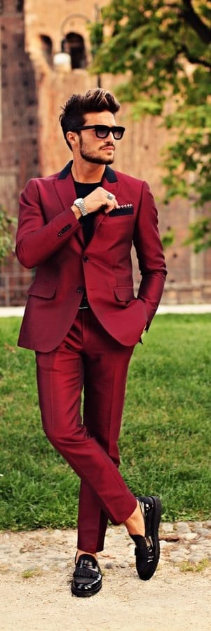 Stylish Tailored Suit For Men
