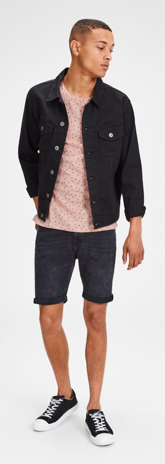 Trendy Micro Print Outfit Ideas For Men
