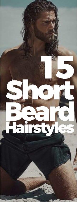 15 mens short beard hairstyles 2018