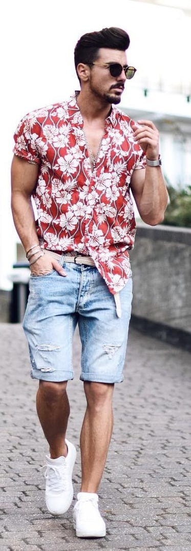 Coolest Printed Shirt Outfit Ideas For Men