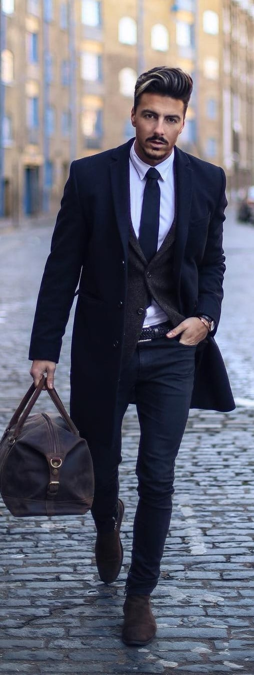 Formal Cardigan Outfit Ideas For Men