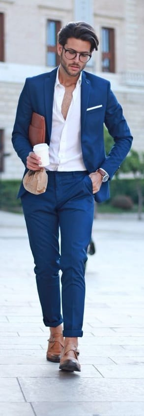 Shirt And Suit Combinations For Men