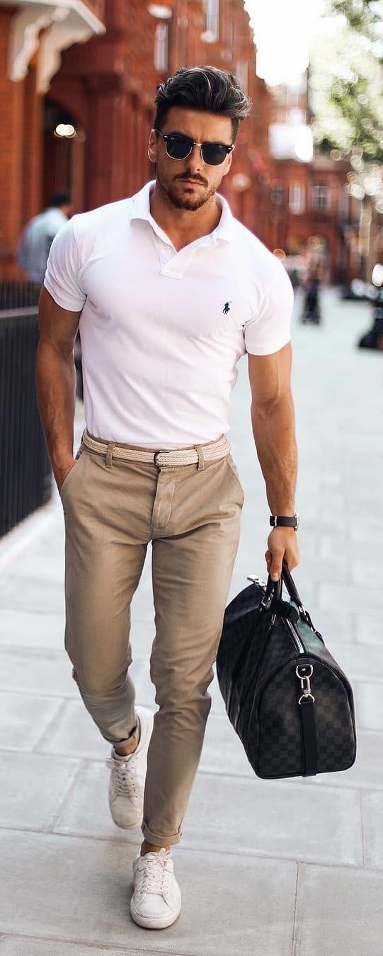 Simple Modern Workwear For Men