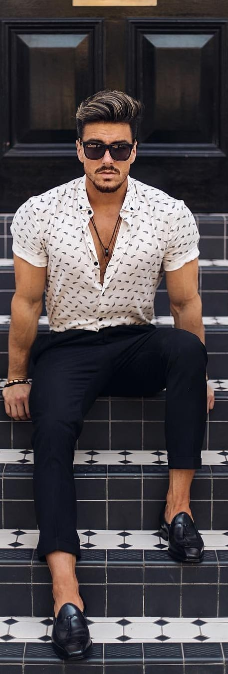 Stunning Printed Shirt Outfit Ideas For Men