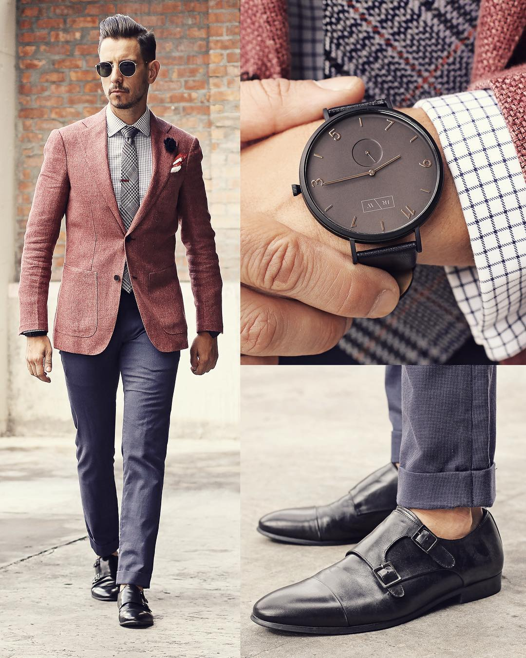 Suit, Watch And Shoes Combinations For Men