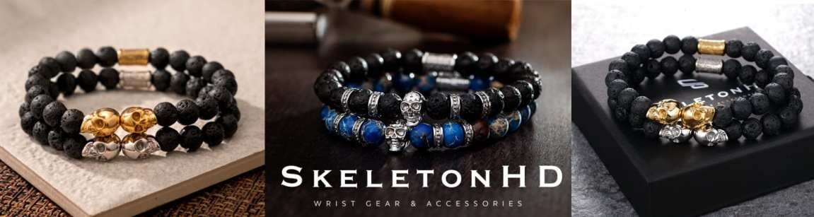 Battle of Brands Men's Skull Bracelets