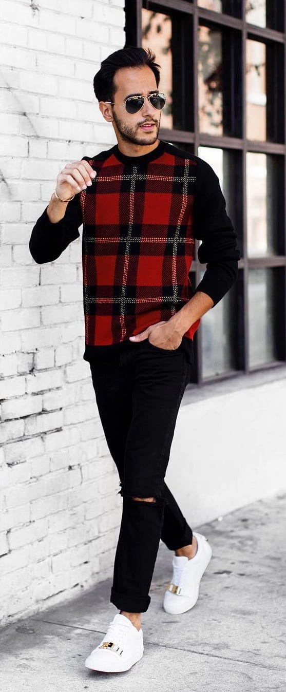 Cool Plaid Outfit Ideas For Men