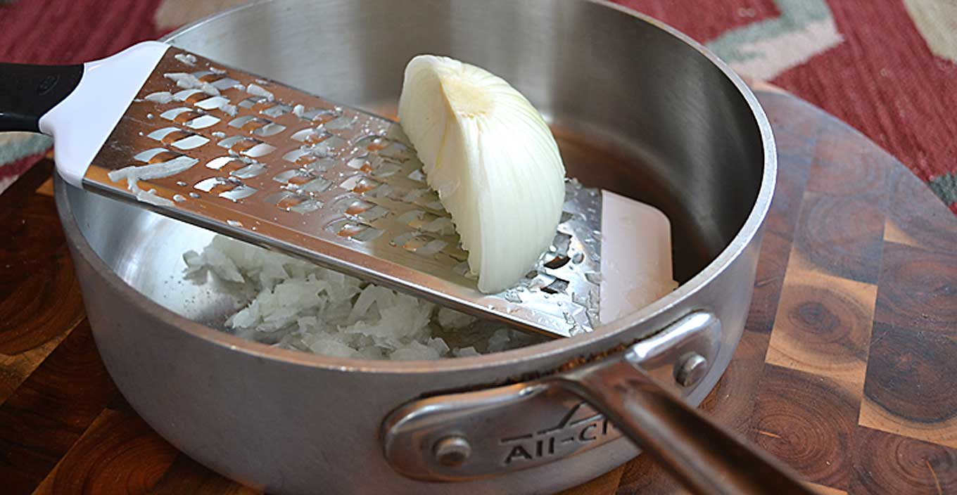 Grated Onion For Acne Scar Removal For Men