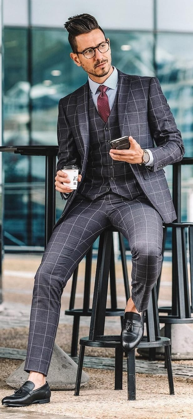 Sophisticated Plaid Outfit Ideas For Men