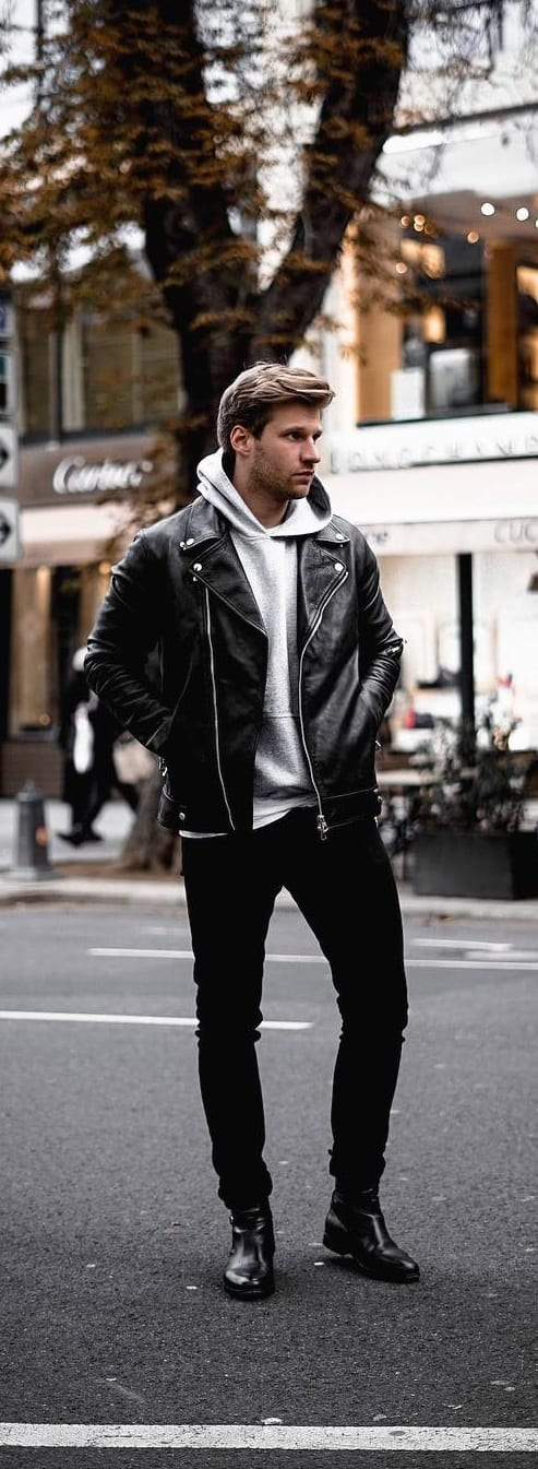 Amazing Bomber Jacket Outfit Ideas For Men